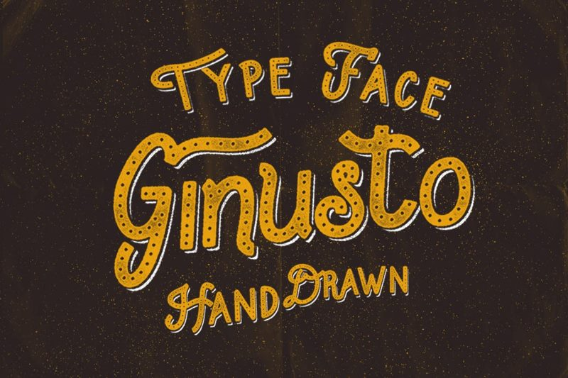Шрифт Ginusto